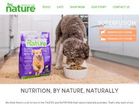 bynaturepetfoods.com