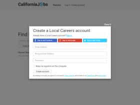 www caljobs ca gov update resume server developer resume exles