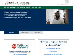 californiaprobono.org