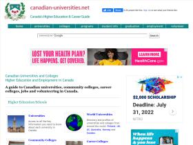 canadian-universities.net