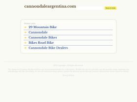 cannondaleargentina.com