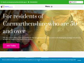 carmarthenshire50.org.uk
