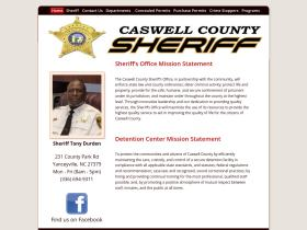 caswellcountysheriffsoffice.com