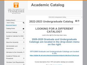 catalog.utk.edu
