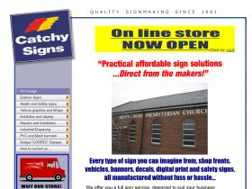 catchysigns.co.uk