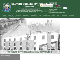 cauverycollege.ac.in