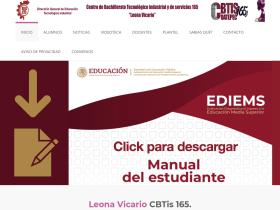 cbtis165.edu.mx