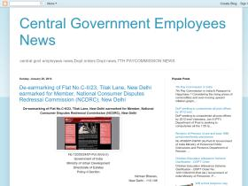 centralgovernmentemployeenews.blogspot.in
