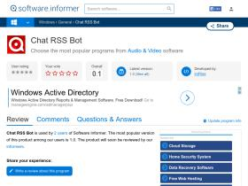 chat-rss-bot.software.informer.com