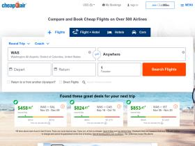 cheapairlinetickets.cheapoair.com