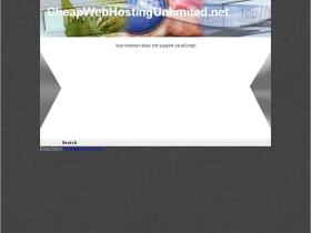 cheapwebhostingunlimited.net