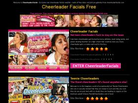 cheerleadersfacials.com