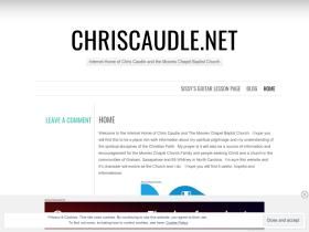 chriscaudle.wordpress.com