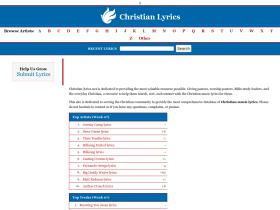 christian-lyrics.net
