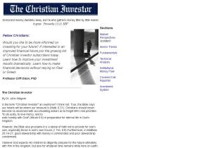 christianinvestor.com
