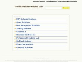 christiansitesolutions.com
