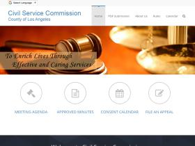 civilservice.lacountycommissions.info