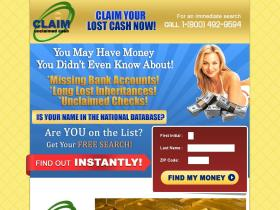 claimunclaimedcash.com