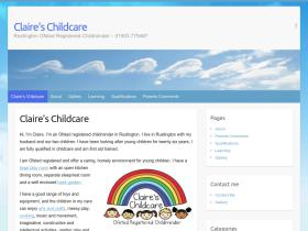 claires-childcare.co.uk