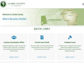 clarkecountyal.com