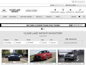 clearlakeinfiniti.com