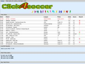 click and bet free soccer picks of the day