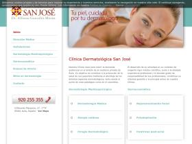 clinicadermatologicasanjose.es