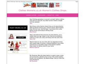 clotheswomens.co.uk