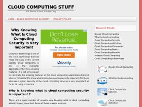 cloudcomputingstuff.com