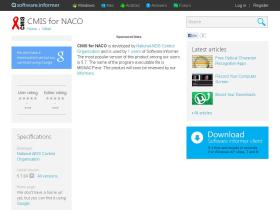 cmis-for-naco.software.informer.com