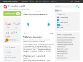 codevisionavr.software.informer.com