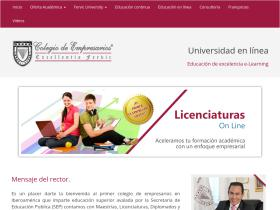 colegiodeempresarios.edu.mx