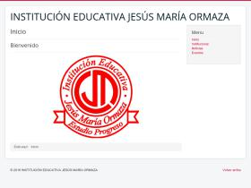 colegioormaza.edu.co