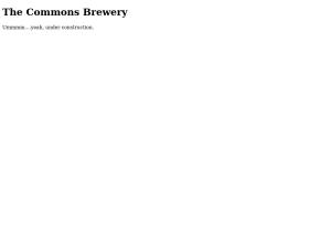 commonsbrewery.com