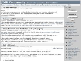 community.jedit.org