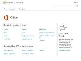 community.office365.com