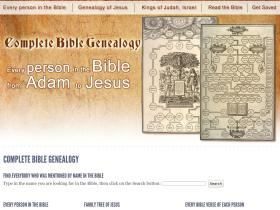complete-bible-genealogy.com