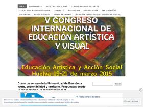 congresoeducacionartisticayvisual.wordpress.com