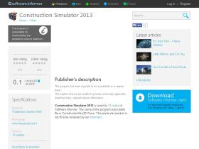 construction-simulator-2013.software.informer.com