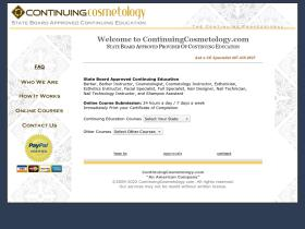continuingcosmetology.com