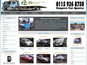 cooperscarspares.co.uk