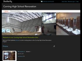 corninghighschoolconstruction.shutterfly.com