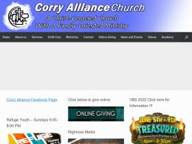 corryalliance.org
