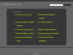 countrylyrics.com