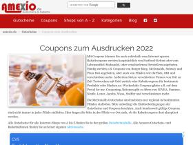 coupons.amexio.de