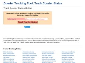couriertrackingtool.in