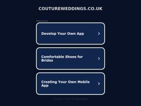 coutureweddings.co.uk