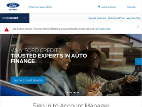site of ford credit canada learn about financing or leasing a ford. Cars Review. Best American Auto & Cars Review