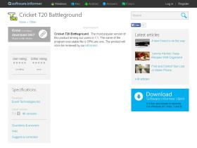 cricket-t20-battleground.software.informer.com