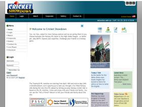 cricketshowdown.com